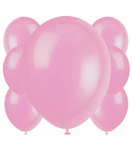 Palloncini rosa biodegradabili - Ø 23 cm - confezione da 100