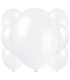 Palloncini bianchi biodegradabili - Ø 23 cm - confezione da 100