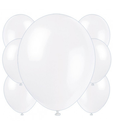 Palloncini bianchi - Ø 23 cm - confezione da 100