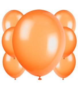 Palloncini arancioni biodegradabili - Ø 23 cm - confezione da 100