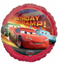 Cars - Birthday Champ Foil - Ø 45 cm
