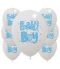 Palloncini Baby Boy Azzurri - Ø 30 cm - confezione da 100