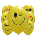 Palloncini assortiti smiles - Ø 30cm - 100 pezzi