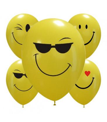 Palloncini assortiti smiles - Ø 30cm - 50 pezzi