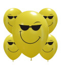 Palloncini Cool smiles - Ø 30cm - 50 pezzi