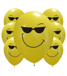 Palloncini Cool smiles - Ø 30cm - 100 pezzi
