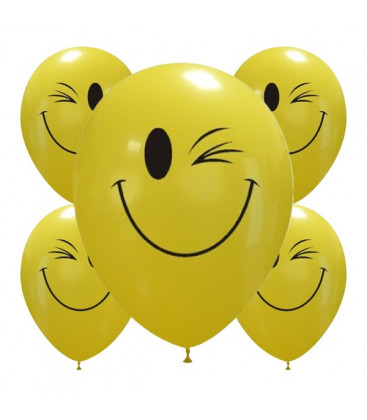 Palloncini Wink smiles - Ø 30cm - 50 pezzi
