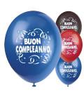 Palloncini Buon Compleanno - Ø 30 cm - 50 pezzi