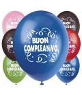 Palloncini Buon Compleanno - Ø 30 cm - 100 pezzi