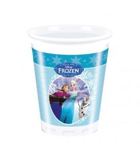 Frozen - Bicchiere Ice Skating 200 ml - 8 pezzi