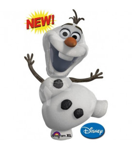 Frozen - Supershape Foil Olaf - Ø 104 cm
