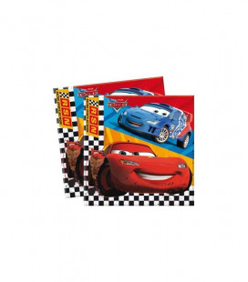 Cars RSN - Tovaglioli 33x33 cm - 20 pezzi