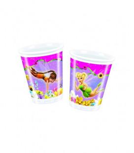 Campanellino - Bicchiere Plastica 200cc - 10 pezzi