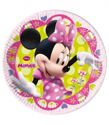 Minnie - Piatto 23 cm - 8 pezzi