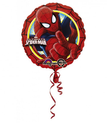 Spiderman Ultimate - Pallone Foil HeXL® - Ø 45 cm