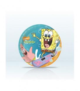SpongeBob - Piatto 20 cm - 10 pezzi