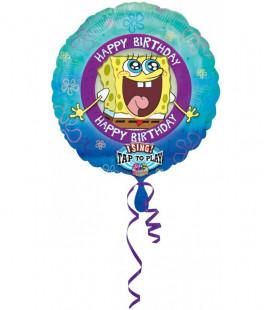 SpongeBob - Pallone Musicale Foil - Ø 71 cm