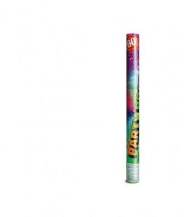 Cannone spara coriandoli multicolore - 30 / 40 cm