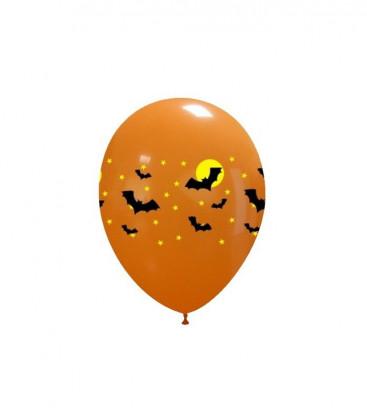 Palloncini Halloween Pipistrelli - Ø 27 cm - 50 pezzi