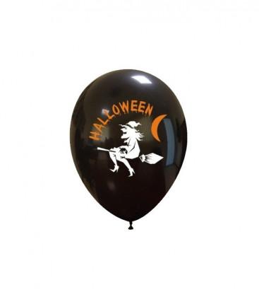 Palloncini Halloween Strega - Ø 27 cm - 50 pezzi